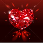 stock-vector-beautiful-red-heart-shaped-ruby-gemstone-on-a-dark-background-diamond-vector-illustration-228425737